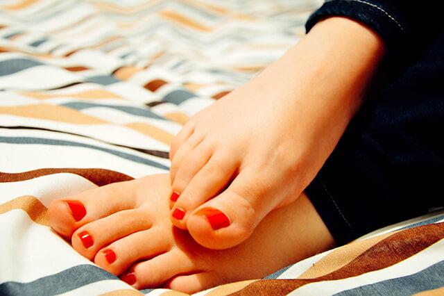 Fußpflege - Friseursalon Lookin